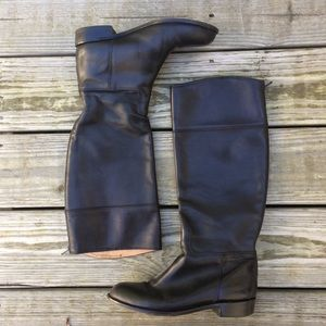 jigsaw Shoes - Jigsaw Black Leather Italian Boots Size 37 / 6